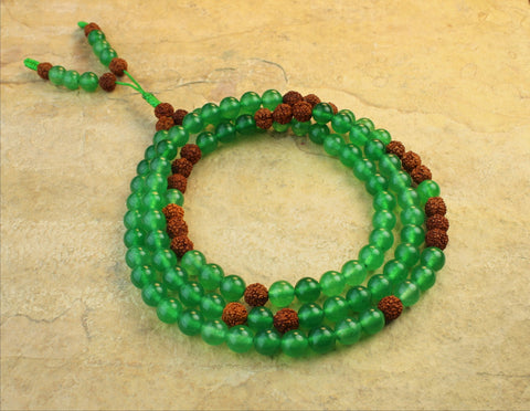 Peace and Serenity Jade Mala