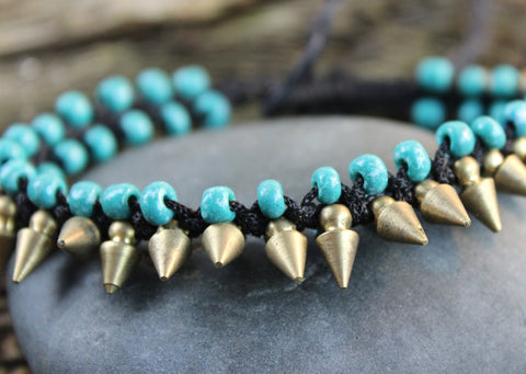 Tribal Spike Bracelet