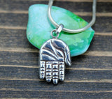 Sterling Silver Buddha Hand Pendant