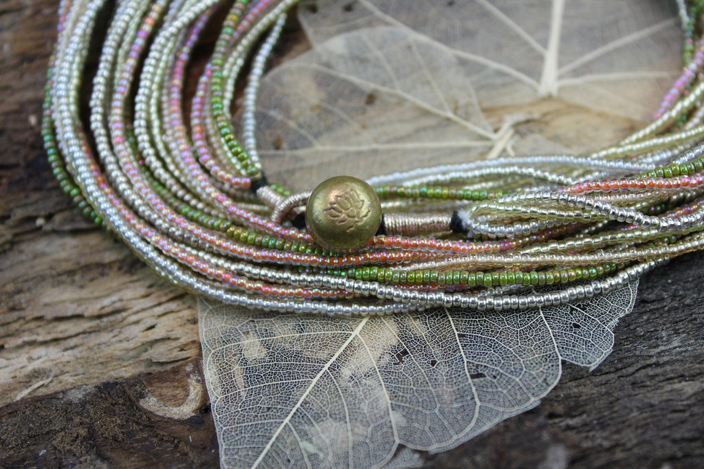 Multi-Strand Pearlessence Necklace