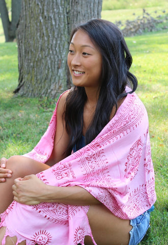 Perfect Pink Prayer Scarve
