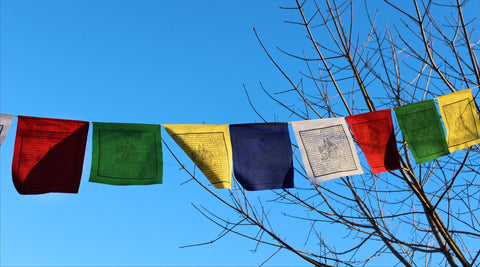 Cotton Guru Rinpoche Prayer Flags