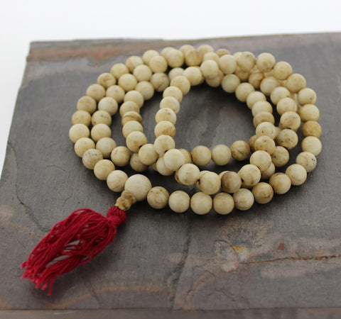 Small Naga Shell 108 mala from Nagaland