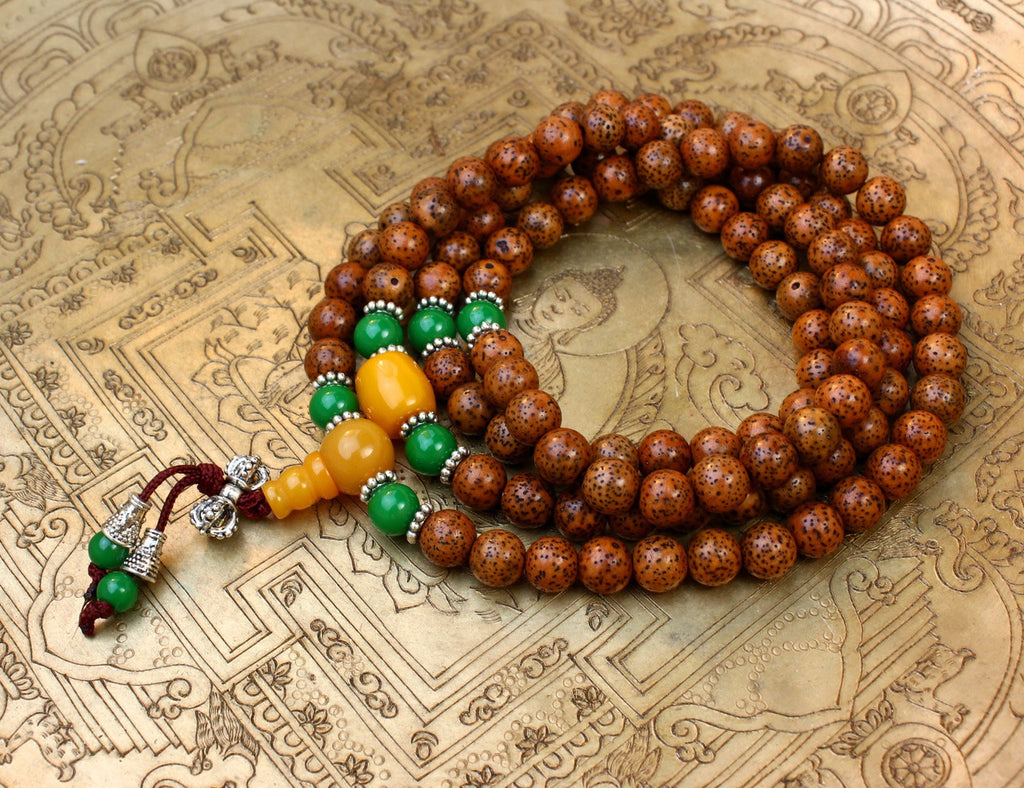Spiritual Growth Lotus Seed Mala