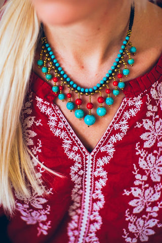 Sensational Indo/Tibetan Necklace