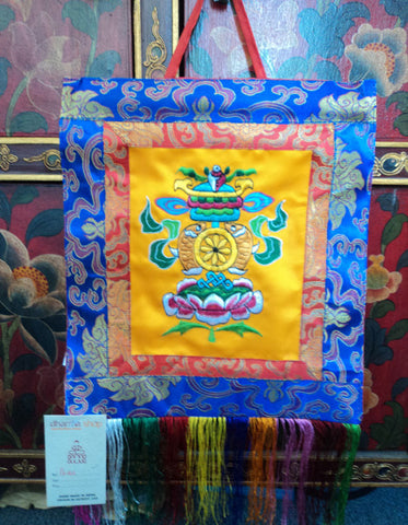 Embroidery Tashi Tagge Wall Hanging