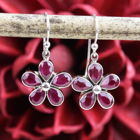 Amazing Ruby Earrings