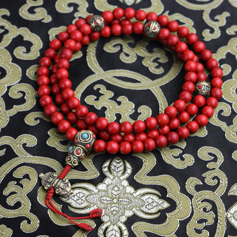 Mala Beads Calming Heart of Tibet Mala ML581