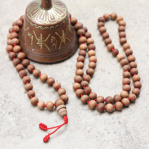 Mala Beads Default Hand Knotted Sandalwood Mala ml097