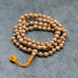 Mala Beads Hand Knotted Lotus Seed Mala ML634