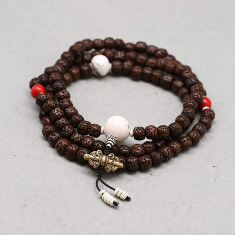 Mala Beads Rudraksha Concentration Mala ML624