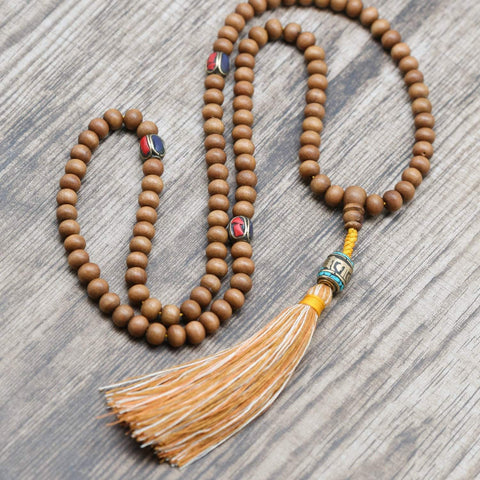 Mala Beads Sandalwood Meditation Mala ML649