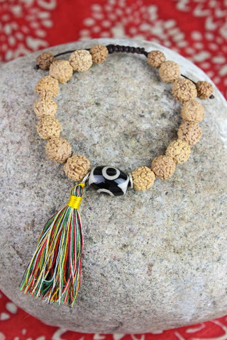 Concentration and Clarity Wrist Mala
