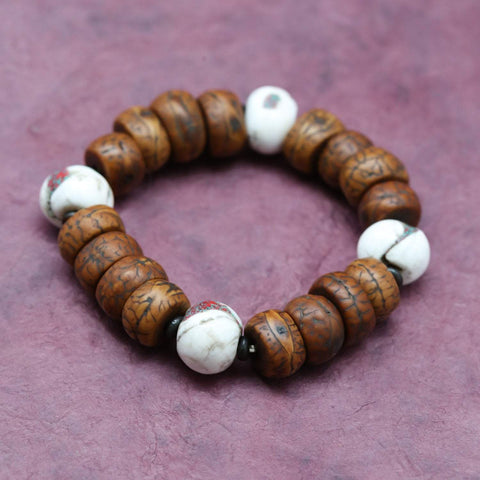 Wrist Malas Bodhi and Naga Spirit Bracelet WM484