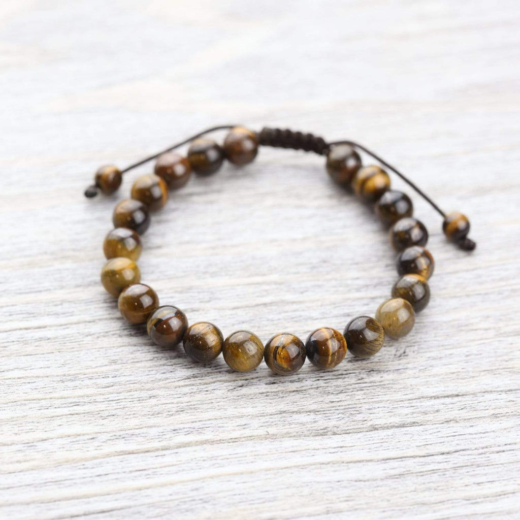 Wrist Malas Default Tiger Eye Wrist Mala wm014
