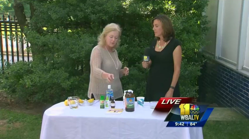 Linda Collinson provides summer skincare tips on NBC