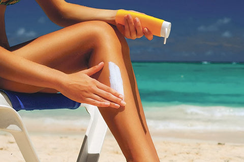 DON'T use sunscreen! - Dewberry Lotion
