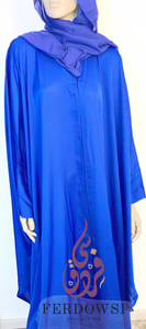 ABAYA KIZWA SET-ROYAL BLUE