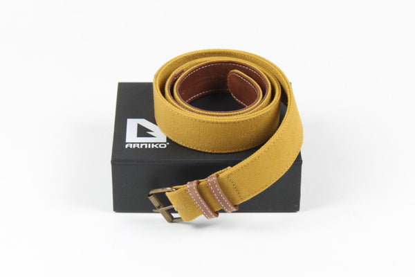 Belt Balhir Wide Yellow