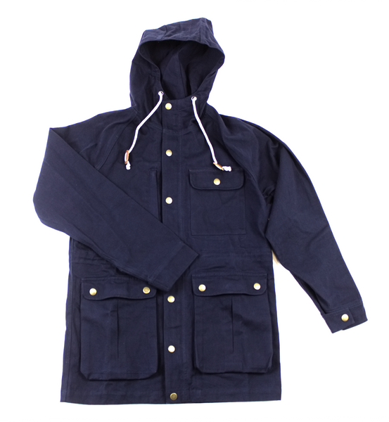Jacket Waxed Teku Navy