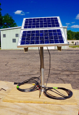 Portable Solar Power for Boats and RV's - 20 watt 12 volt
