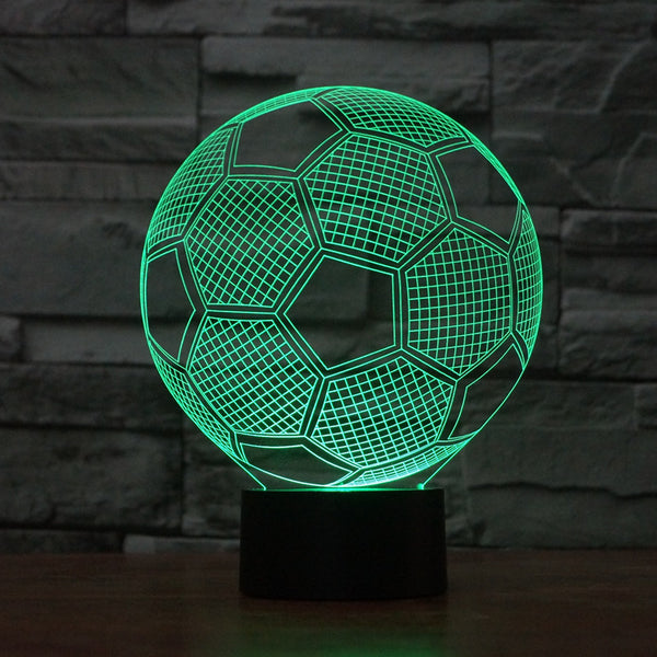 Soccer Ball 3D LED Light