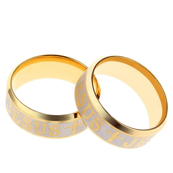 Men's & Women's Steel Jesus Ring Offer
