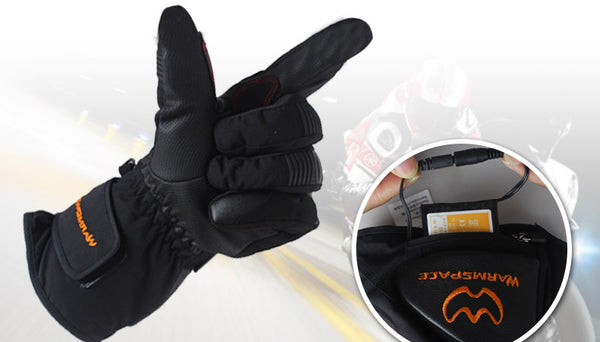 Rechargeable Heated Motorcycle and Snowmobile Gloves