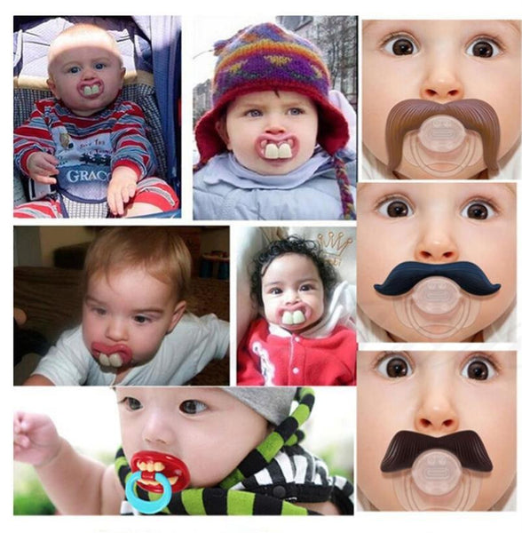 Funny Face Baby Pacifier
