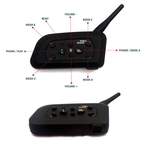 Bluetooth Motorcycle Intercom System