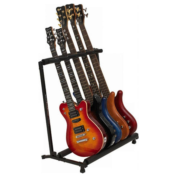 Folding Guitar Rack for 5 Guitars