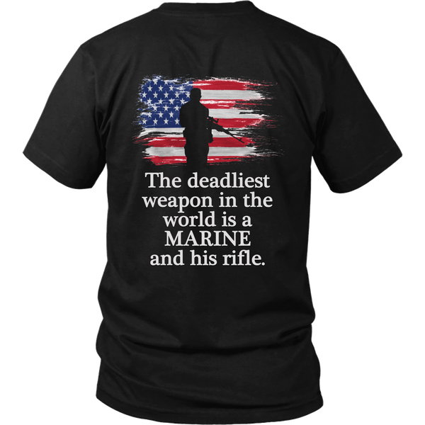 "T-shirt ""The Deadliest Weapon..."""