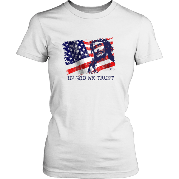 "T-shirt ""In God We Trust"""
