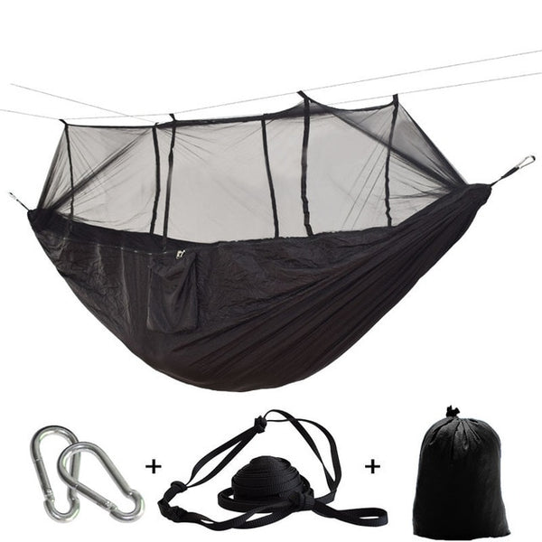 Parachute Hammock with Mosquito Netting
