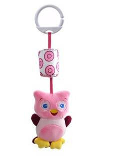 Plush Hanging Baby Toy Animal for Stroller or Crib Offer