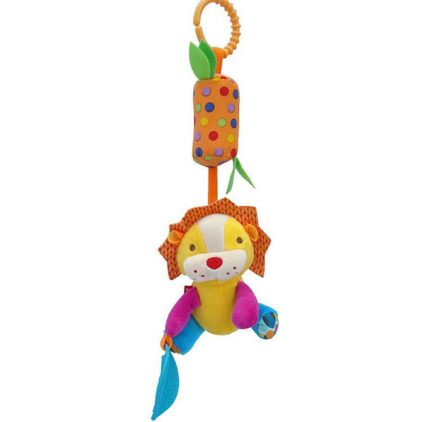 Plush Hanging Baby Toy Animal for Stroller or Crib