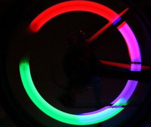 Neon Color Changing LED Neon Bike Wheel Light Set