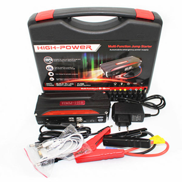 Portable Battery Jump Starter Kit