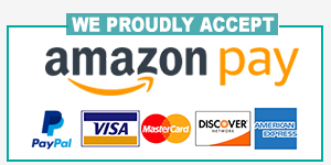 We proudly accept many safe, convenient payment methods!