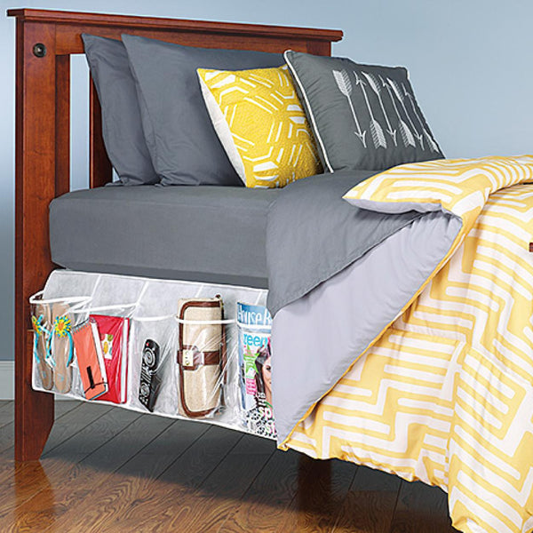 Bed Skirt Vinyl Pocket Organizer