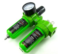 "Dynamic Power 1/4 in. Air Unit Professional Air Filter, Regulator and Lubricator Control Unit (1/4"" NPT)"