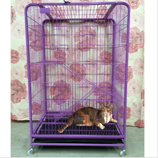 Paw Essentials Heavy Duty 3-Tier Cat Condo / Cage