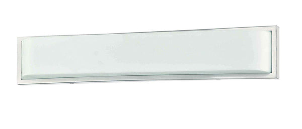 Mega Lighting Vanity Wall Lamp Brushed Nickel / Acrylic (1) 26W LED Panel