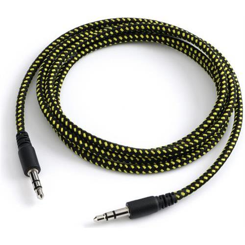 Carwires Mini-Jack Audio Cable 4 feet  (4 Color Options)