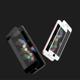Crystal Set of Case and Tempered Glass for iPhone 7 / iPhone 7 Plus / iPhone 8 / iPhone 8 Plus