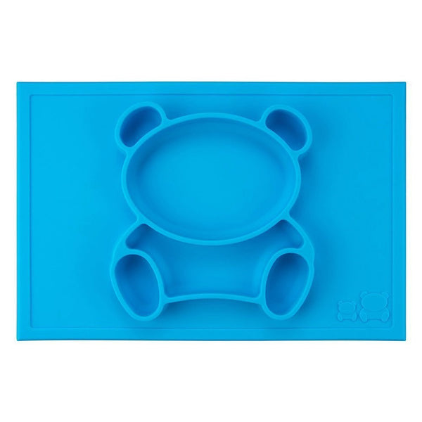 GrowRight Kid Safe Silicone Bear Table Place Mat