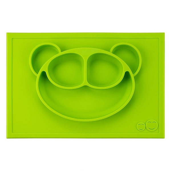 GrowRight Kid Safe Silicone Monkey Table Mat  (3 Color Options)