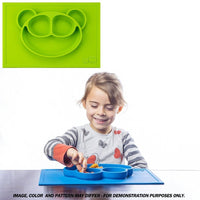 GrowRight Kid Safe Silicone Monkey Table Place Mat
