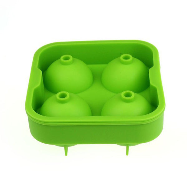 Giant (4.5cm) Party Size BPA free Silicon Ice Ball Tray  (4 Color Options)