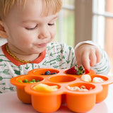 Flower Shape Baby Food Silicon Freezer Tray BPA-free (5 Color Options)